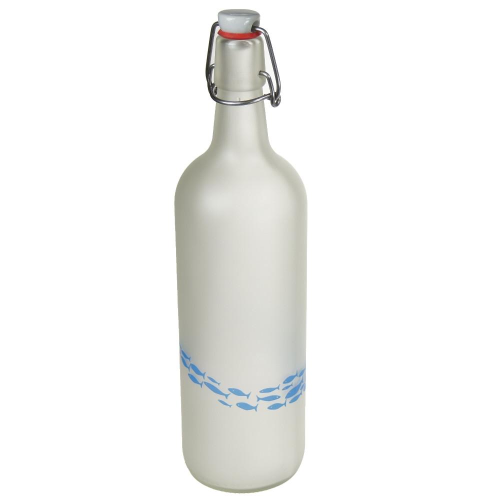 An image of Lemonade Bottle with Fish design