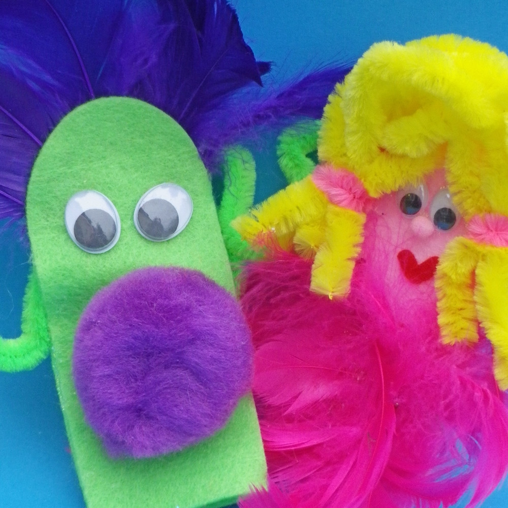 An image of Finger Puppet Craft Set