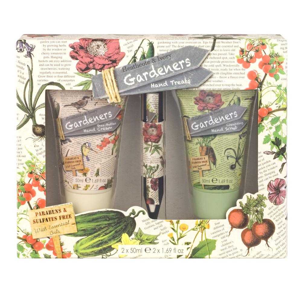 An image of Gardener's Gift Set Hand Treats & Markers