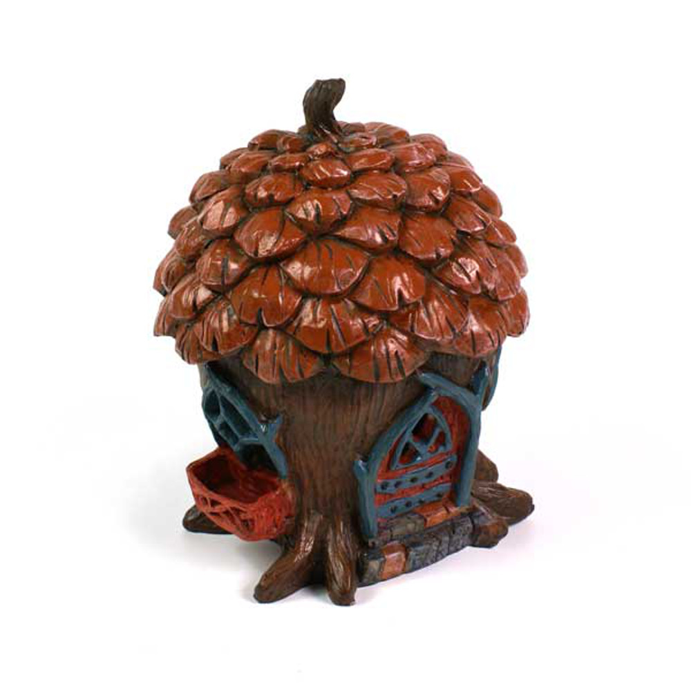 An image of The Pine Cone Cottage Fairy Home