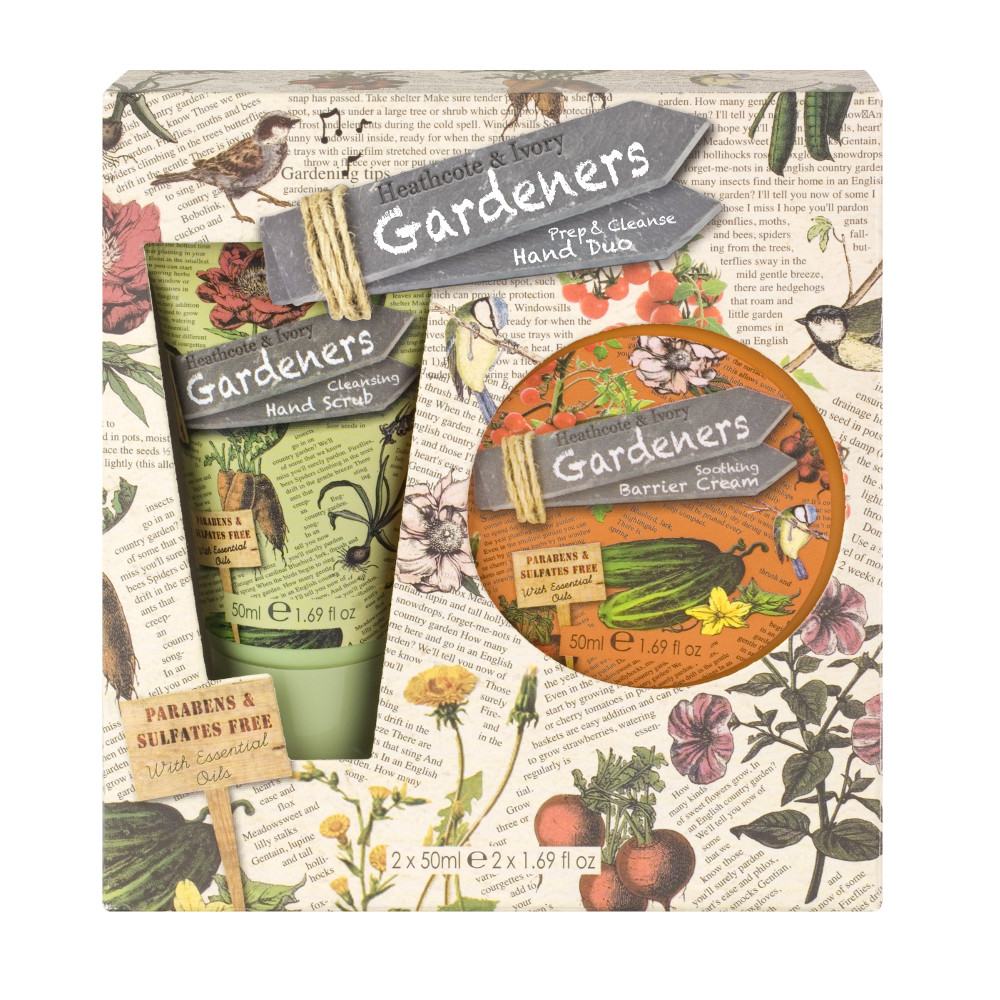 An image of Gardeners Prep and Cleanse Hand Duo 50 ml - Gift boxed